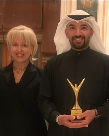 ASP and Hamad al Jenaie winner of Dame Judi Award